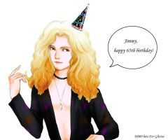 Happy birthday Jimmy Page by clerichan