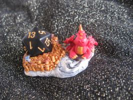 Update! Dragon Dice Diorama for D20 RGP by SelloCreations