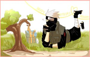 Happy Birthday Kakashi by Faiyuuhi