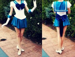 Super Sailor Neptune Progress by Xelhestiel