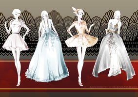 (SALE) - Costume Adoptable Set #004 by Timothy-Henri