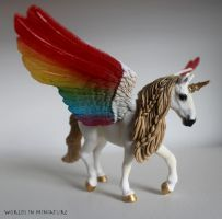 Winged Unicorn by Worlds-in-Miniature