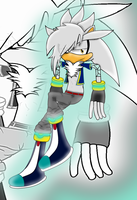 Silver The hedgehog Improvement. by daga000