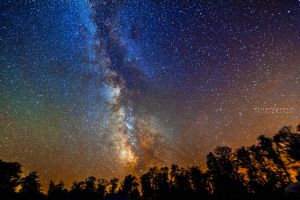 Milky Way Cherry Springs by PhotoshopAddict89