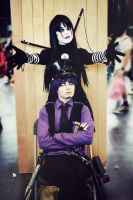 Purple Guy and Puppet - FNAF cosplay 2 by AlicexLiddell