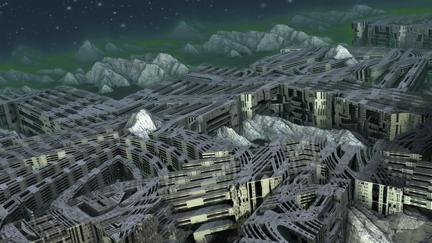 Ancient Alien Apartments by banner4