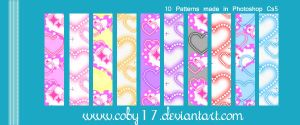 Lovey Dovey Patterns by Coby17