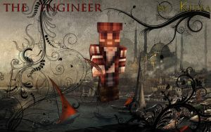 The Engineer Poster [OldEagle's Skin] for Nicole by DwarfChieftain