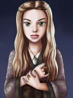 Cersei Lannister Anime Style by Yrya-chan