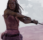 michonne by littleulvar
