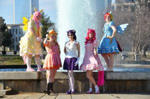 My Little Ponies Group 3 by MakeupGoddess