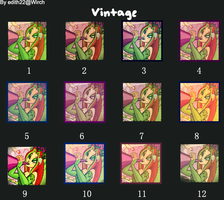 Icon vintage effect by edithnyt