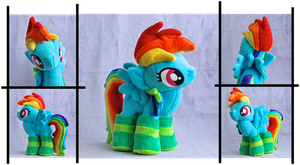 Rather Dashing Plushie, Now With Socks by weRDunfo