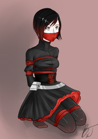 Ruby Rose (Without cape) by BlackJacke7