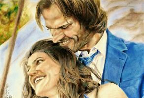 G. and J. Padalecki by jacsch71
