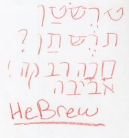 Hebrew by ObliviousAbsence
