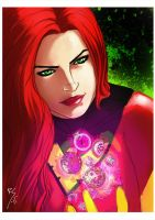dark Phoenix... by Ruihq
