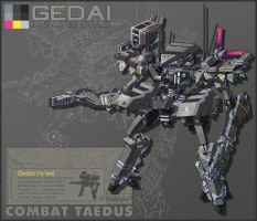 Theos Combat Taedus Gedai Ya'eel Animated Version by Nidaram