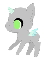 Chibi Pony :Base: by iVuiAdopts