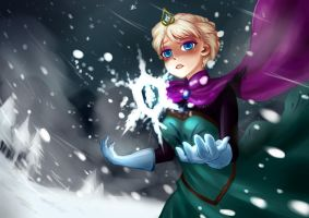 Frozen Heart - Queen Elsa by phrysm