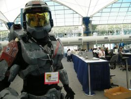 halo cosplay S-098 by solo-knight6