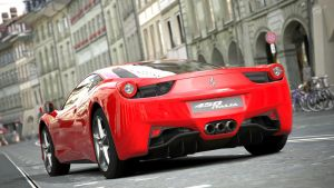 Ferrari 458 Italia - Rear by MercilessOne