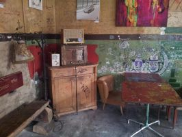 Ruined Bar Budapest~ by RiddlerEnigma