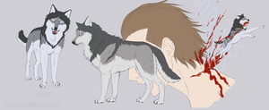 Levi / Rivaille Wolf by Nicicia