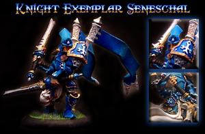 Mini A Week 23: Knight Exemplar Seneschal by greylond