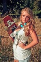 Jade skateboard II by TheSoftCollision