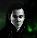 Loki by elz-art