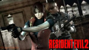 Resident Evil 2 - Remake Wallpaper by KeeperNovaIce