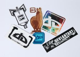 Sticker Pack I by deviantWEAR