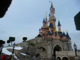 Disneyland Paris - Castle -20- by Maliciarosnoir-stock