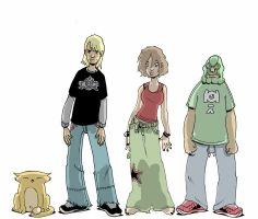 King city characters by royalboiler