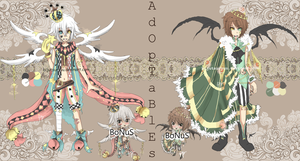 Adoptable : Auction {CLOSED} by FriedDragonfruit