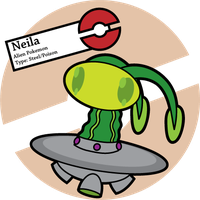 Fake Pokemon: Neila by Sageroot