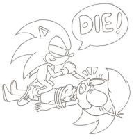 Sonic kills his sister by sonictopfan