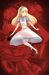 Red Wonderland - Alice by gladyfaith