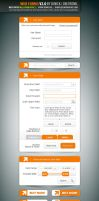 Web Forms V2.0 layered PSD by djnick2k