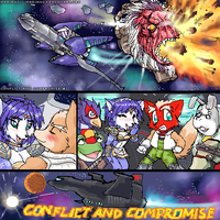 Starfox: Conflict and Compromi by hellhaiserkyoru