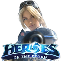 Heroes of the Storm Nova Icon by Zlade97