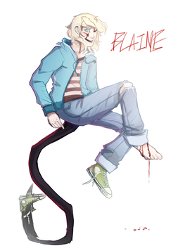 ITS YA BOI BLAINE by SpytDragonFyre