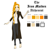 The Iron Maiden Alchemist by Free-Fall-Angel