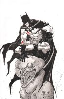Batman SDCC 2014 Commission by TessFowler