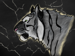Tigers and Lightning by CuriousInferno