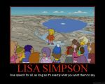 Lisa Simpson motivational by SuperKoopaTroopa