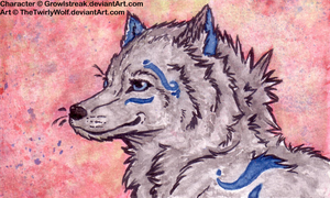 ACEO-Trade with Growlstreak by MercyLasVegas