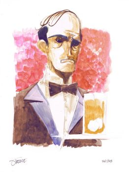 25 Days of DC - Alfred Pennyworth by JeremyTreece