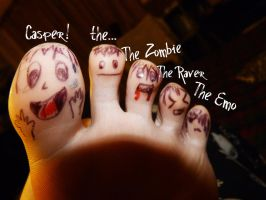 Toes by Analy-Aranda